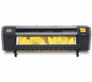О компании, Широкоформатный принтер Flora